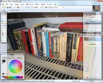 O conjunto de ferramentas do Paint.NET é tão próximo do Photoshop que a maioria das pessoas pode usá-lo com treinamento mínimo.